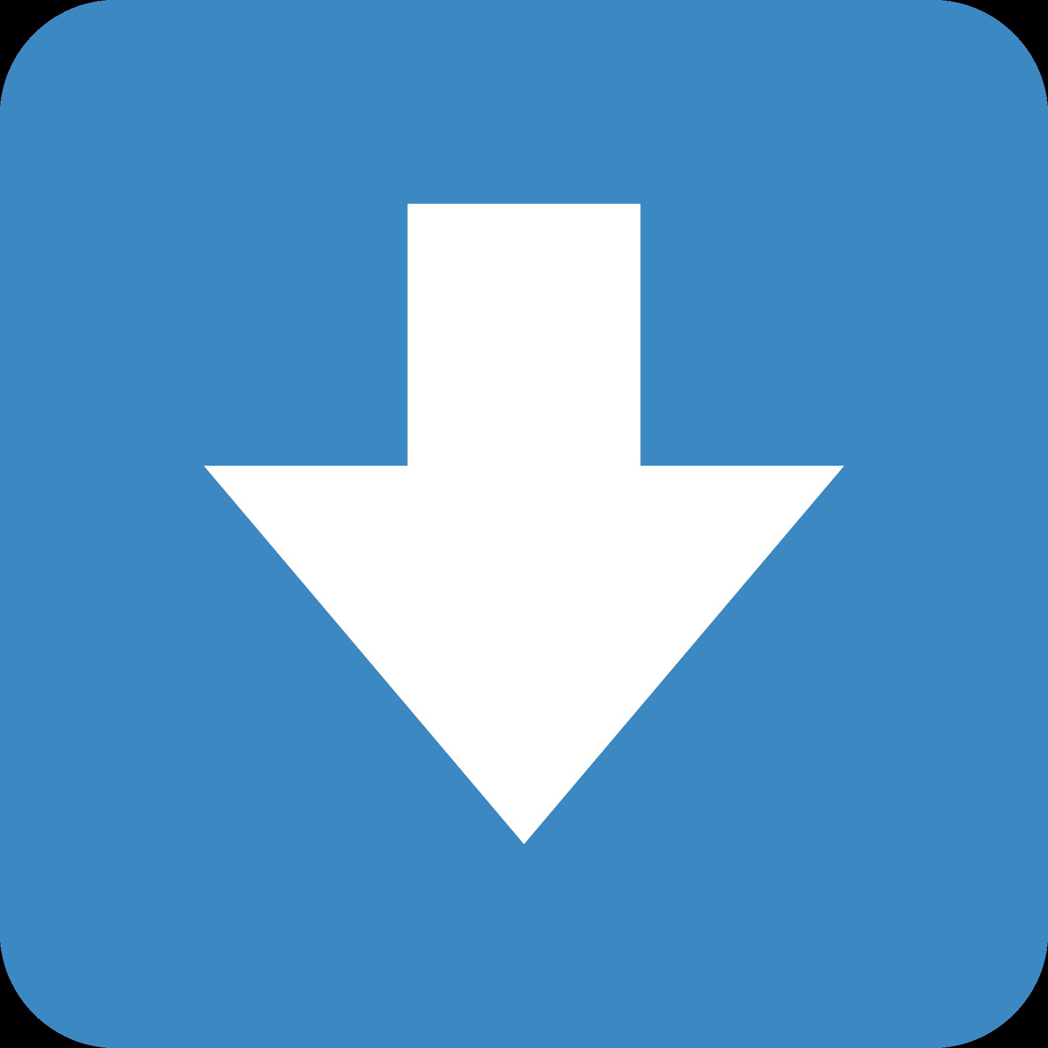 Sticker timeline: Downwards arrow